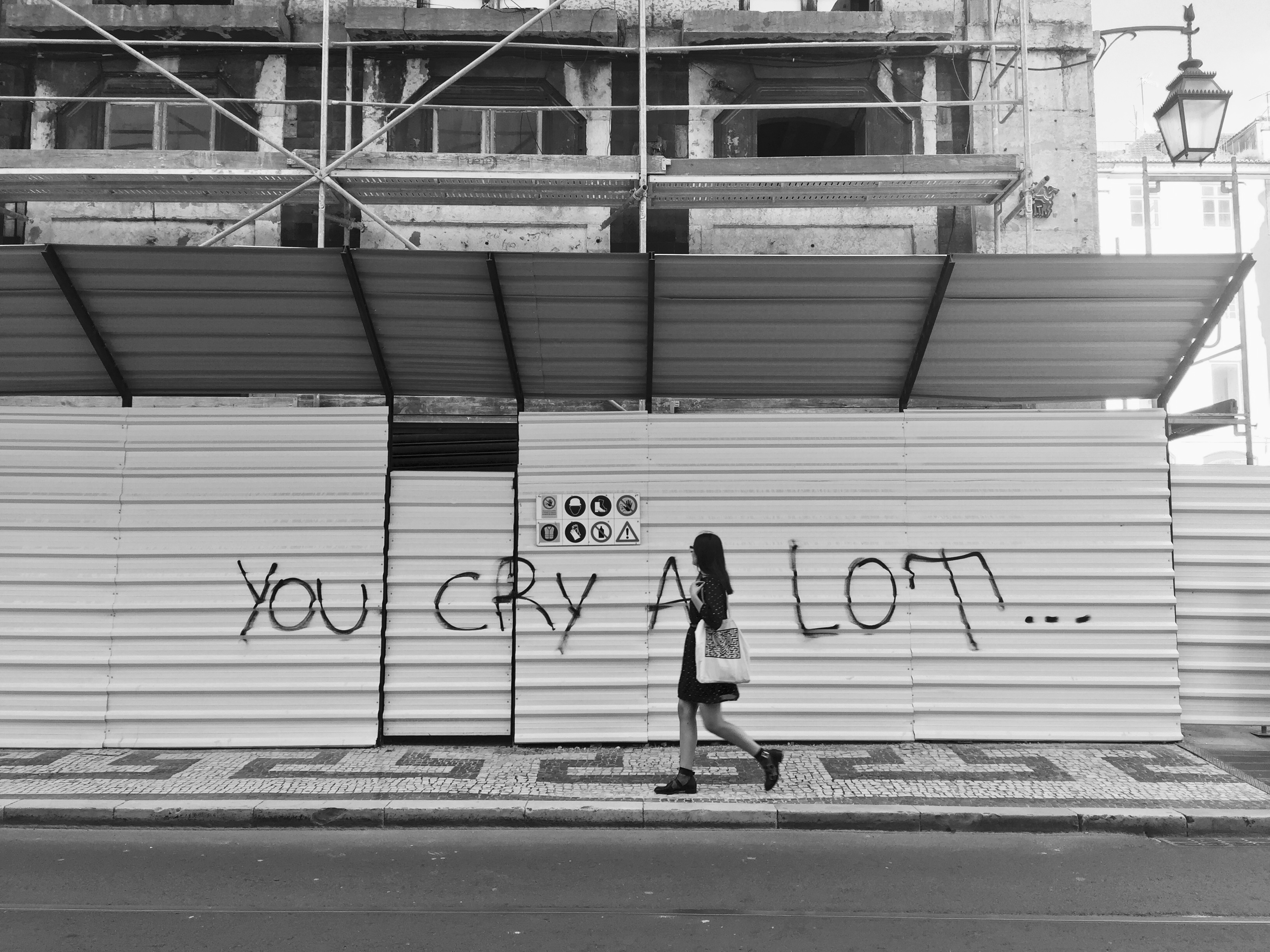 you cry a lot